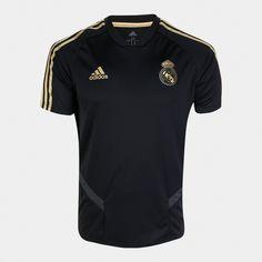 Camisa Real Madrid, Football Kits, Adidas, Mens Tops, T Shirt, Fashion, Sport, Cloaks, T Shirts