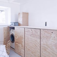 Laundry room - My Home Decor Laundry Room Organization, Laundry Room Design, Modern Laundry Rooms, Paint Colors For Living Room, Room Paint, Laundry Room Lighting, Hidden Rooms, Cabana, Kitchen Furniture
