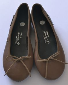 Beautiful leather ballet pumps Handmade with love from Cape Town. Made from genuine leather. Pumps, Heels, Cape Town, Peep Toe, Ballet, Brown, Leather, Handmade, Beautiful