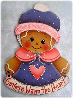 """GINGERBREAD """"Gingers Warm the Heart"""""""