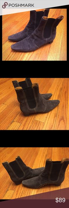 Tod's Boots More Pics Like new Tod's Suede Boots Tod's Shoes Ankle Boots & Booties