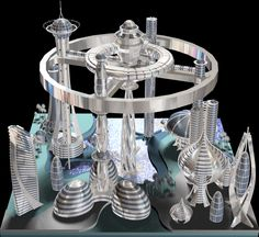 2012 3D Modeling for Future City Simulation
