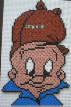 Elmer Fudd Looney Tunes cross stitch by marmotte88130