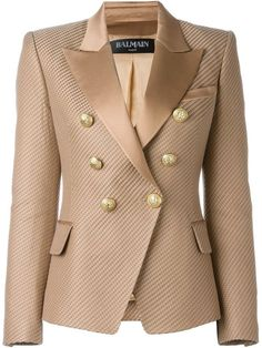 Balmain textured blazer