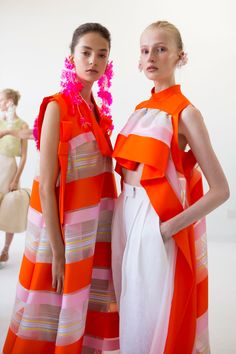 Delpozo | Spring 2017 Backstage – The Impression