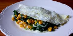 Try something a little different with this spinach and corn omelet sprinkled with flavorful smoked gouda cheese. Total Time: 20 min. Prep Time: 10 min. Coo