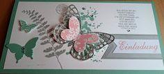 Elas-Kreativ-Händchen: Einladungskarte zur Jugendweihe