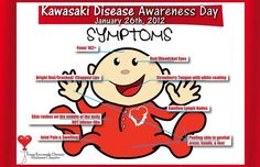 Kawasaki Disease Please make people aware of this disease. You only need one or more of these symptoms. My son only had a fever, slight rash, and red eyes. They thought he had a virus.(my lil buddy .i love you sooo much! Nursing Iv, Nurse Meaning, Kawasaki Disease, Pa School, Pediatric Nursing, Skin Rash, Endocrine System, Medical News, Nclex