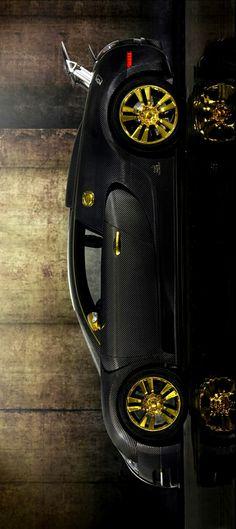 (°!°) 2010 Mansory Bugatti Veyron Linea Vincero d Oro