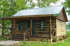 Small Cabin with chinking ~ jack