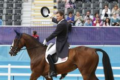 Boyd Martin aboard Otis Barbotiere, July 28, 2012, U.S. Eventing Dressage Riders In Action - Equestrian Slideshows | NBC Olympics