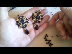 Tutorial Orecchini Madame (35) - YouTube