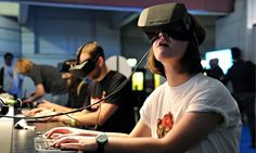 With the release of the Oculus Rift, the HTC Vive, and the Sony PlayStation VR, gamers now have three well-supported virtual reality platforms, but these products didn't just spring up out of nowhere. Google Glass, Virtual Reality Headset, Augmented Reality, Oculus Vr, Vr Games, Video Games, Head Games, Xbox Games, The Next Big Thing