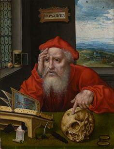 Joos Van Cleve - St. Jerome (1530s-40s)