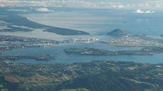 Tauranga by blue polaris, via Flickr Auckland, Historical Photos, Old Photos, New Zealand, River, Explore, Mountains, Places, Pretty