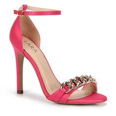Sandália Salto Lara 820007 - Pink - Passarela.com