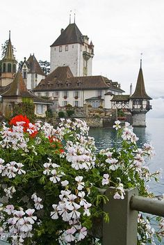 Castle Oberhofen (Thunersee), Switzerland
