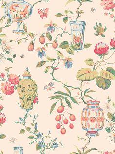 Fishbowl wallpaper by Thibaut