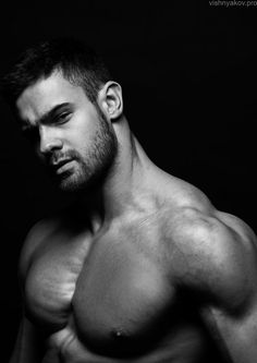 Muscled male model in studio - Buy this stock photo and explore similar images at Adobe Stock Russian Men, Scantily Clad, Hommes Sexy, Male Form, Human Anatomy, Male Beauty, Male Models, Top Models, Beautiful Men