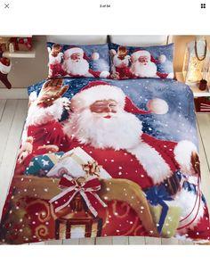 Santa Says Hi Bedding Sets Father Christmas, White Christmas, Christmas Diy, Christmas Decorations, Christmas Cushions, Boyfriend Crafts, Textiles, Blanket Cover, Valentine's Day Diy