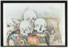 Totenschädel - Druck, entnommen aus Westermanns Monatshefte