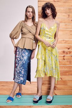 Tanya Taylor Pre-Fall 2018 Fashion Show Collection