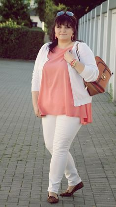 CONQUORE · The Fatshion Café | Fashion Plus Size Blog: And suddenly I like to wear white... #matfashion #plussize