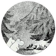 Muumin, from the Swedish speaking Finn Tove Jansson