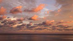 Sunset in Mani #sunset #clouds #seascape #peach #pink #mani #greece