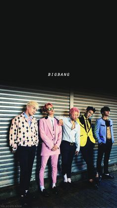 Big Bang- TOP, GDRAGON, Taeyang, Seungri, Daesung