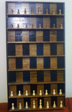 How To Make A Vertical Wall-mounted Chessboard