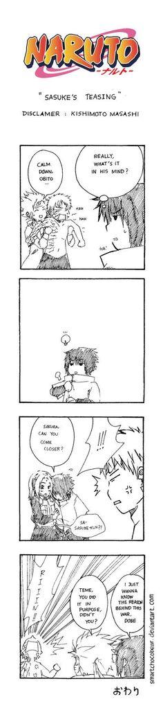 Sasuke's teasing