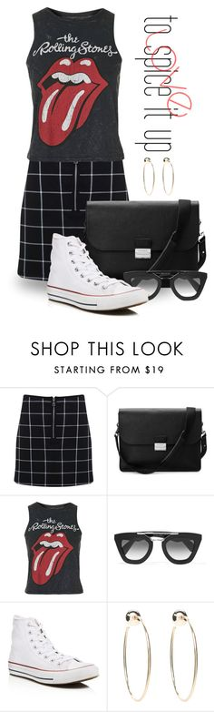"""""""Apr 20th (tfp) 1349"""" by boxthoughts ❤ liked on Polyvore featuring Miss Selfridge, Aspinal of London, Topshop, Prada, Converse, Bebe and tfp"""