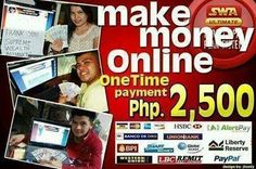 For those who are interested to EARN MONEY ONLINE USING FACEBOOK! FOLLOW THESE SIMPLE STEPS: 1.) Watch our Free video presentation: http://youtu.be/pX7Y2gaUgg4 2.) Add me on fb and pm me if interested... https://www.facebook.com/ronmarion.villanueva  THEN JOIN: http://mhaanne01.swaultimate.com/payoption or txt me @ 09489904576
