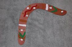 Montessori Design: boomerang art