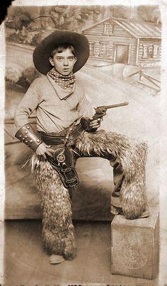 Vintage Boy's Roy Rogers Cowboy Shirt/Costume W/Leather ...