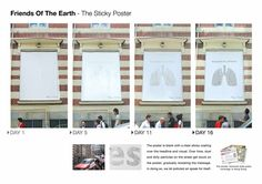 Friends of the Earth: The sticky poster (Hong Kong)