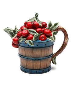 Look at this Cherry Tea Pot on #zulily today!
