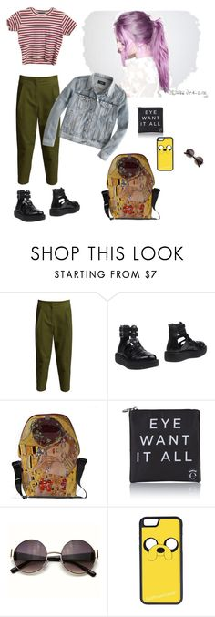 """""""What I'd wear"""" by prusius on Polyvore featuring Felipe Oliveira Baptista, T.U.K., Eyeko, CellPowerCases and J.Crew"""
