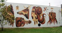 Forest For The Trees Mural by Reka One