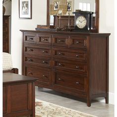 Avalon Furniture Beacon Street 10 Drawer Dresser