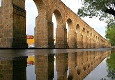 Acueducto en Morelia, Michoacan, Mexico  Ciudades Mexicanas Patrimonio Mundial