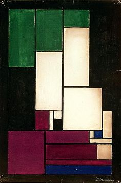 Theo van Doesburg (1883-1931) - Composition (1922)