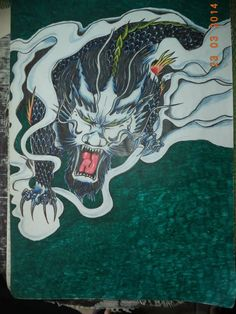 dragon primera croquera