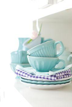 Ib Laursen, turquoise, Mynte Aqua, Minty House
