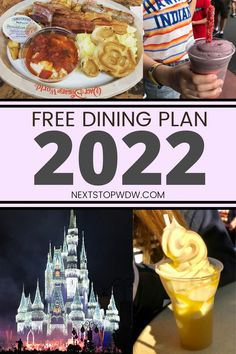 In this article we are going to look at if there will be Free Disney Dining Plan Offers in 2022. With the world slowly returning to some sort of normality (hopefully) that this will mean Disney World returns to this popular offer with its vacation packages? Best Disney World Food, Best Disney World Restaurants, Dining At Disney World, Disney Dining Tips, Disney World Guide, Disney World Packing, Disney World Secrets, Disney On A Budget, Disney World Tips And Tricks
