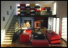 interior design by Jonas-yun.deviantart.com on @deviantART