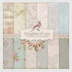 Digi Scrap Kit from NeareStore - Kingdom of Love (papers).