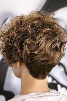 Short Curly Pixie, Short Curly Hairstyles For Women, Haircuts For Curly Hair, Curly Hair Cuts, Girl Haircuts, Curly Hair Styles, Natural Hair Styles, Hairstyles Haircuts, Updo Curly