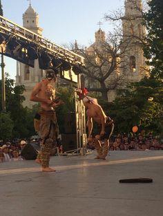 Danza del venado, frente a catedral, Hillo.Son.México.aracsof.